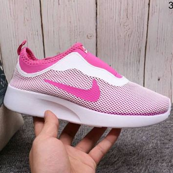 NIKE TANJUNSLIP Women's Pedal Casual Shoes Sneakers F-A36H-MY Pink