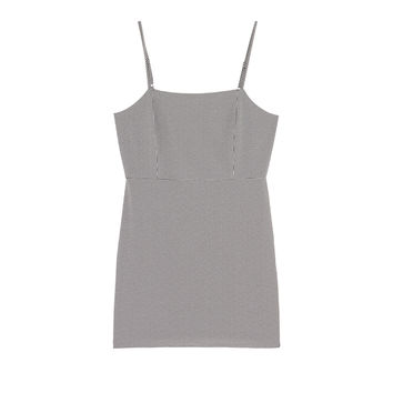 Fitted mini dress - Dresses - Clothing - Woman - PULL&BEAR United Kingdom