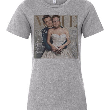 Seth Rogen James Franco Vogue Cover Women's T Shirt