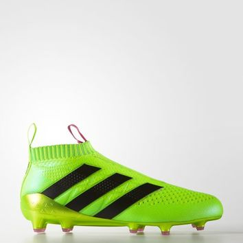 adidas ACE 16+ PURECONTROL Firm Ground Cleats - Green | adidas US