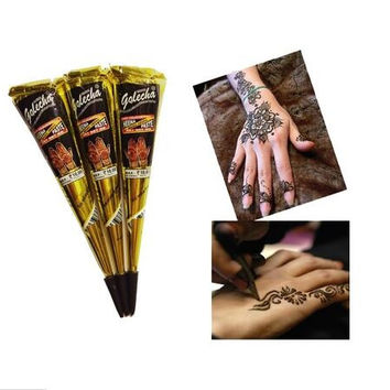 Neha Henna Tattoo Natural Jet Black 1Pcs/Kit [6366170820]