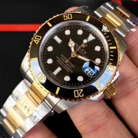 HCXX R005 Rolex Submariner Superlatve Chronometer Officially Certified Mechanical Watches Black Gold