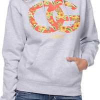 Obey OG Island Grey Pullover Hoodie at Zumiez : PDP