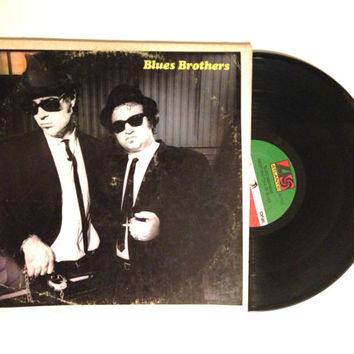 OCTOBER SALE Vinyl Record The Blues Brothers Briefcase Full Of Blues LP Album 1978 Chicago Blues Dan Aykroyd John Belushi