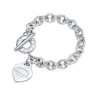 Return to Tiffany™ heart tag toggle bracelet