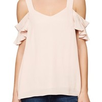 Sanctuary Annie Cold Shoulder Blouse | Nordstrom