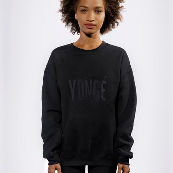 YONCE EMBROIDERED SWEATSHIRT - Apparel