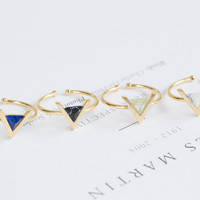 Space Triangle Ring