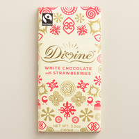 Divine White Chocolate with Strawberries, Set of 2 - World Market