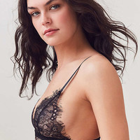 Out From Under Annette Lace Triangle Bra | Urban Outfitters