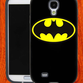 BatMan Logo,Accessories,Case,Cell Phone,iPhone 4/4S,iPhone 5/5S/5C,Samsung Galaxy S3,Samsung Galaxy S4,Rubber,27-11-23-Hk
