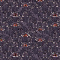 Hidden Community fabric - rheaewing - Spoonflower
