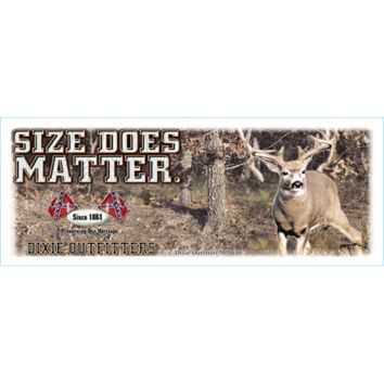 Size Does Matter Coffee Mug by Dixie Outfitters®