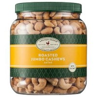 Salted Roasted Jumbo Cashews - 30oz - Archer Farms™ : Target