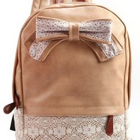 Generic Lace Vintage New Backpack Girls