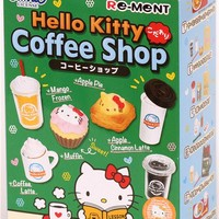 Hello Kitty Coffee Shop Cafe Re-Ment miniature blind box - Re-Ment Miniature