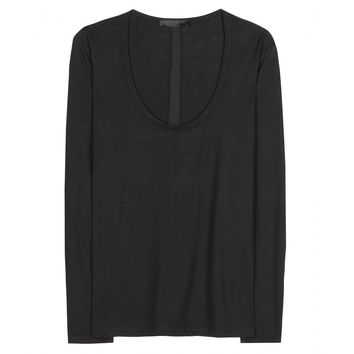 the row - hazelton jersey top