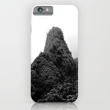 Iao Needle iPhone & iPod Case by Derek Delacroix