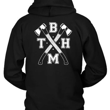 Bring Me The Horizon Cross Axe Hoodie Two Sided