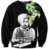 Smoking Einstein Crewneck