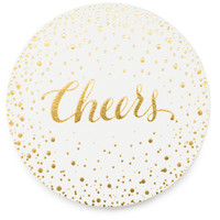 Sugar Paper Bubbly Cheers Coasters