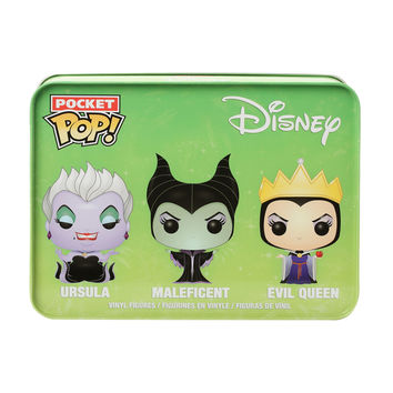 Funko Disney Pocket Pop! Ursula Maleficent & Evil Queen Set
