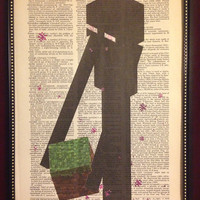 Minecraft Enderman Dictionary Art Print