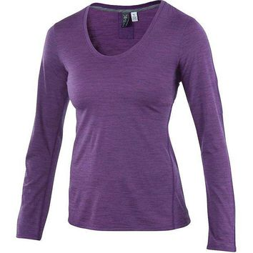 CREYYN3 Ibex OD Heather Crew - Women's