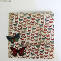 Butterfly Picture Frame Wood Photo Frame