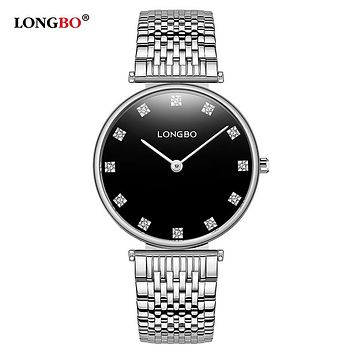 Fashion Lovers Watches Waterproof Stainless Steel Women Men Quartz Wristwatch Classic Couple Watch Gifts
