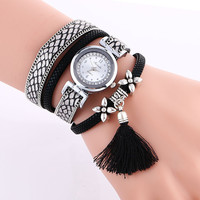 Popular Flower Tassel Quartz Watch