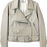 Acne Studios Merci Potato Leather Jacket