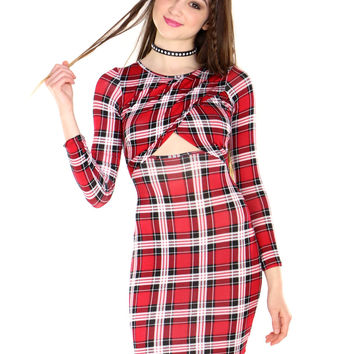 PLAID GIRL RIRI DRESS