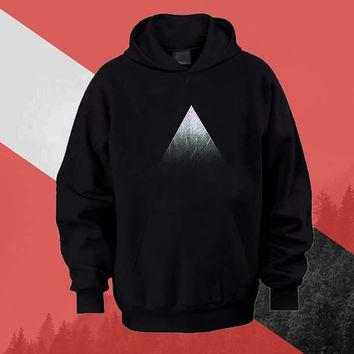 bastille triangle Hoodie Sweatshirt Sweater Shirt black white and beauty variant color Unisex size