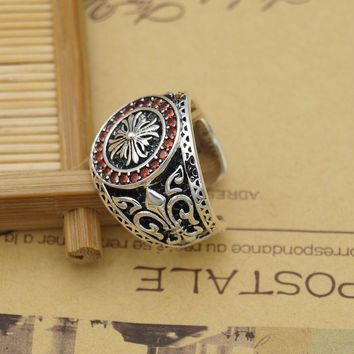 Shiny New Arrival Gift Jewelry Silver Strong Character Stylish 925 Classics Ring [49350049804]