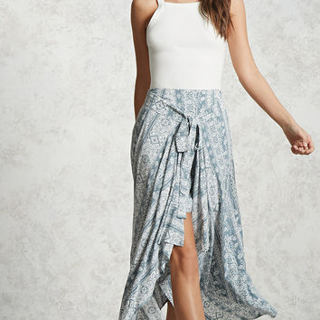 Contemporary Self-Tie Skirt