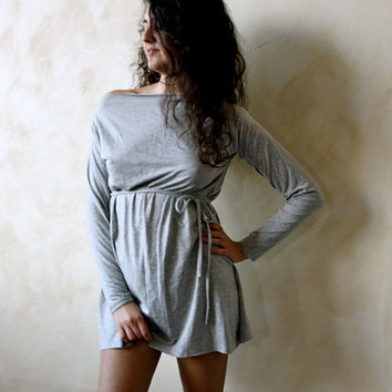 Long sleeved jersey Sweatshirt by 8fantasie8 on Etsy