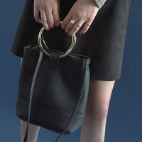 Metal Hoop Accent Bag | STYLENANDA