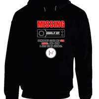 Twenty One Pilots Missing Tyler Car Radio Hoodie