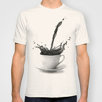 Coffee T-shirt by Thubakabra