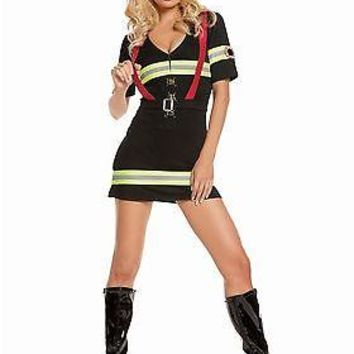 Adult Blazin Hot Firefighter Costume