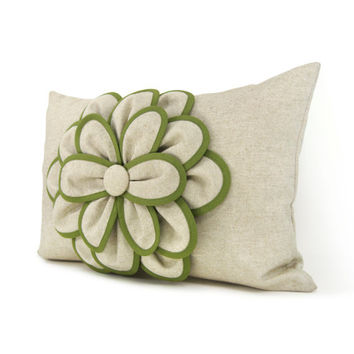 Shabby Chic Lumbar Pillows : Lumbar pillow cover, Decorative pillow from ClassicByNature on