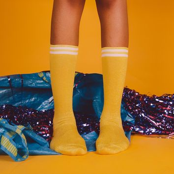 Sublime High Socks | Yellow