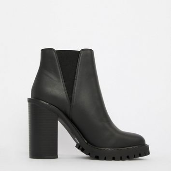 ASOS DESIGN Edison chunky chelsea boots at asos.com