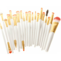 20Pcs/set  Professional Cosmetics Brush Practical Powder Soft Cosmetic Makeup Brushes