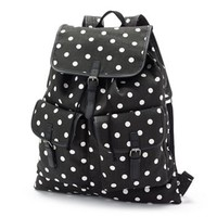 Candie's Dotted Oversized Backpack