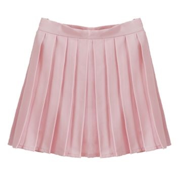 LIGHT PINK TENNIS SKIRT