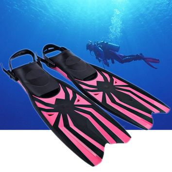 Professional Scuba Snorkel Diving Equipment Swimming Fins Adjustable Diving Fins Flippers Men Women Swimming Pool Training Suit