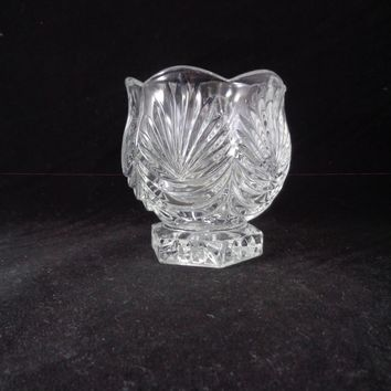 Crystal Clear Votive Candle Holder