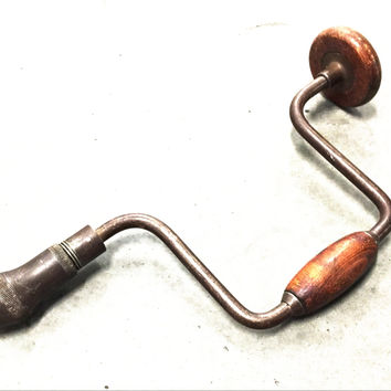 Vintage Hand Cranked Drill